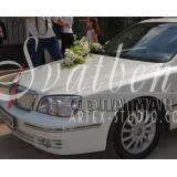 Персонален Номер за Сватбените Автомобили с Надпис и Цвят по Избор №Н01-4