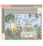 """Магнити """"Приказни Младоженци в Сватбена Кола"""" :: Подаръчета за Гостите #01-2"""