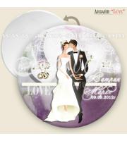 Младоженци Стил :: Сватбени Огледалца #07-8