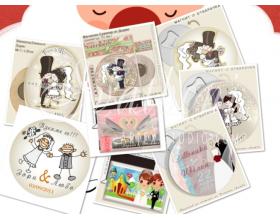 Сватбени подаръчета с картинки и карикатури »