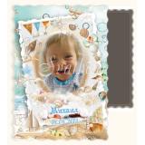 Морска Тема :: Магнити за Детски Празници и Снимки на Деца №: 01-4